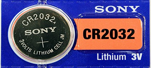 - Sony 3V Lithium CR2032 Battery (4 strips of 5 per unit)