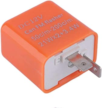 Flasher Can 12v 2 Pin use with LED indicators
