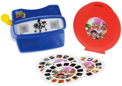 Three Viewmaster Reels (Fisher-Price View-Master 3D Disney/Pixar Toy Story 3 Gift)