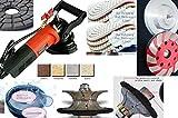 4 1 2 grinder tile blade - Wet Polisher Grinder Granite Concrete Dust Shroud 1