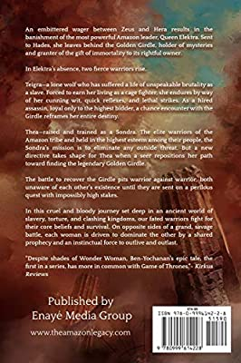 db35a249c263 The Amazon Legacy: Gods & Queens: Zenay Bekele Ben-Yochanan: Amazon ...