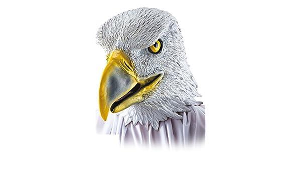 Máscara de águila halcón - Adulto - Talla única - Halloween - 1077: Amazon.es: Juguetes y juegos