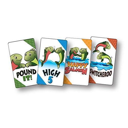well-wreapped Juegos North Star juego de cartas Happy Salmon - zonne ...