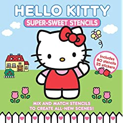 Hello Kitty Super Sweet Stencils