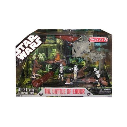 Star Wars 30th Anniversary Saga 2007 Exclusive Action Figure Mega-Pack The Battle of (Exclusive Battle Pack)