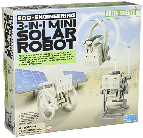 (4M 3-in-1 Mini Solar Robot)
