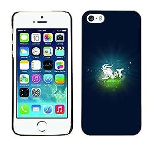 Be Good Phone Accessory // Dura Cáscara cubierta Protectora Caso Carcasa Funda de Protección para Apple Iphone 5 / 5S // Capricorn Capricornius Zodiac Sign