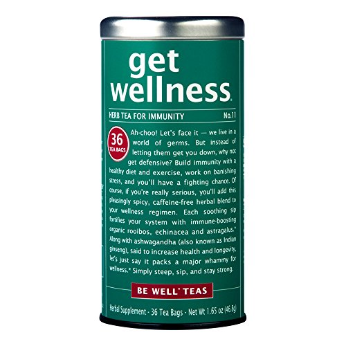 The Republic of Tea, Get Wellness Tea, 36-Count