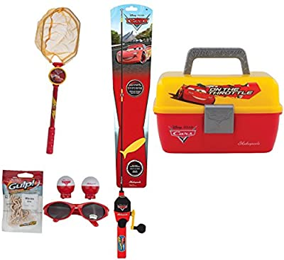 Shakespeare Disney Cars Fishing Kit (Combo Package) from Shakespeare