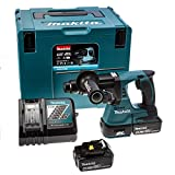 Makita DHR242RMJ 18 V Li-ion LXT Brushless Rotary Hammer Complete with 2 x 4.0 Ah Li-ion Batteries and Charger in a Makpac Case