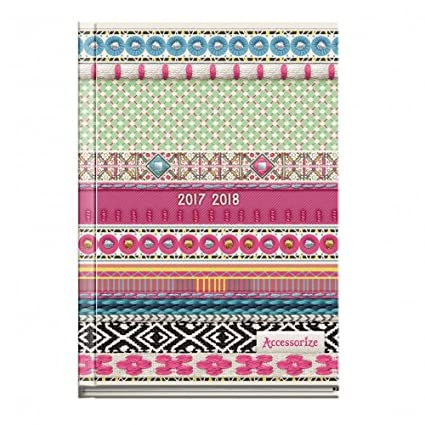 Agenda escolar 2017/2018 - Accessorize - 12 x 17 cm: Amazon ...