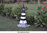 Amish-Made Bodie Island, NC Replica Lighthouse with Base, 44'' Tall
