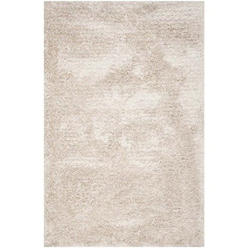 Safavieh South Beach Collection SBS562C Handmade Champagne Polyester Area Rug (2' x 3') (Beach Wine South)