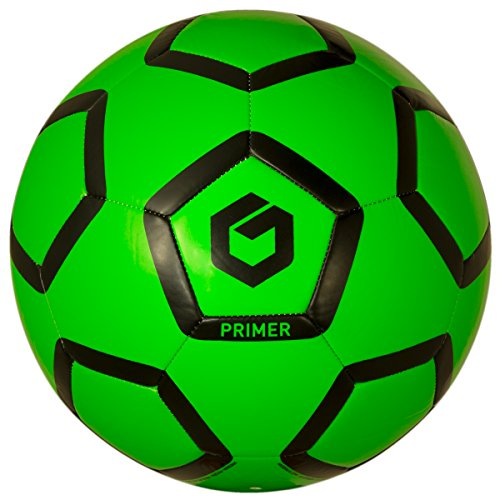 GOLME Primer Soft-Touch Soccer Ball - Mutant Green Size 5