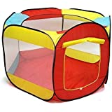 Kiddey Ball Pit Play Tent for Kids - 6-sided Playhouse for Children - Fill with Plastic Balls (Balls Sold Separately) or Use As an Indoor or Outdoor Tent By Kiddey™