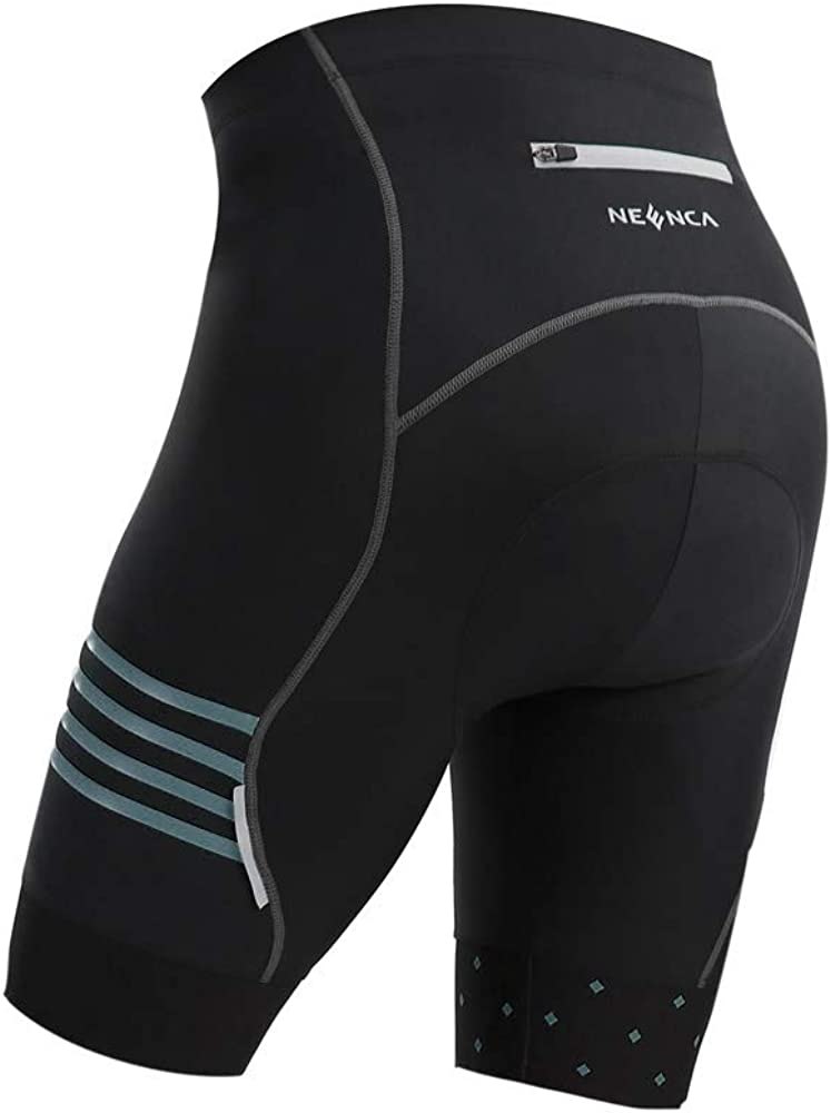 NEENCA Men's Bike Cycling Shorts with 4D Sponge Gel Padded, Cycling Underwear Pants, Bicycle Riding Tights, Breathable: Clothing