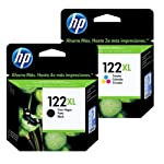 Kit Cartucho HP 122 XL preto + 122XL color Original