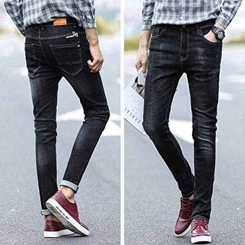 Fit Da Usedlook Slim Especial Leisure Stretch R Nero Jeans Estilo Uomo Pantaloni Pants Hren Fashion fn5xxqw