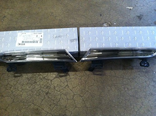 Pair of New OEM 2009-2013 Nissan Murano Headlight Reflector Panels ()