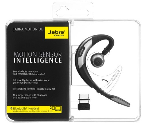c934626cbad Jabra MOTION UC Bluetooth Headset - Black: Amazon.in: Electronics