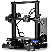 "SainSmart x Creality Ender-3 3D Printer, Resume Printing V-Slot Prusa i3, for Home & School Use, Build Volume 8.7"" x 8.7"" x 9.8"""