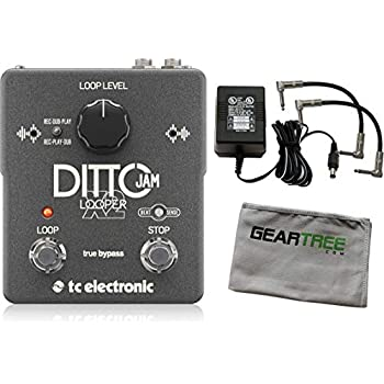 tc electronic ditto jam x2 looper effects pedal w power supply cloth and 2 patch. Black Bedroom Furniture Sets. Home Design Ideas