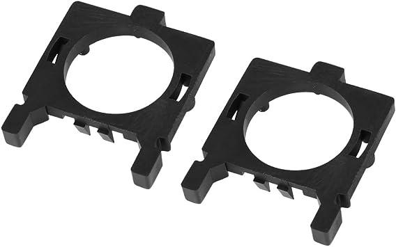 H7 LED Headlight Base Buckle Lamps Bulb Holder Adapter for car H7-18 2pcs