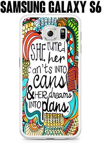 Shopping Quotes & Messages - Samsung Galaxy S 6 - White or Purple