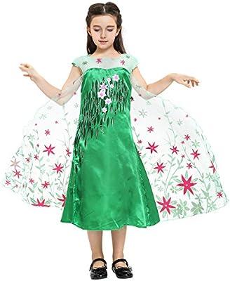 Katara - Disfraz de la princesa Elsa - Frozen Fever - vestido ...