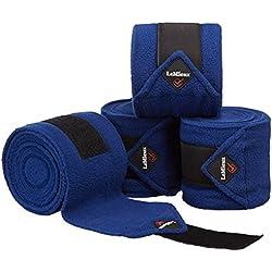 Lemieux Luxury Polo Bandages - Benetton Blue - Full