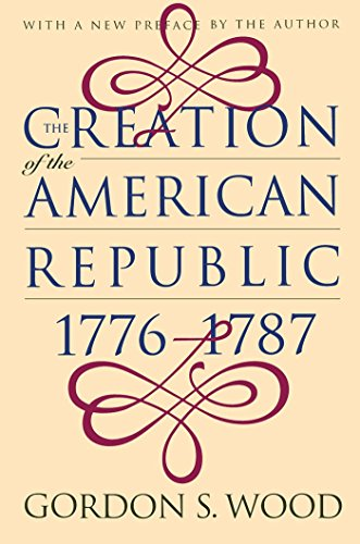 [Paperback] [Gordon S. Wood] The Creation of The American Republic, 1776-1787