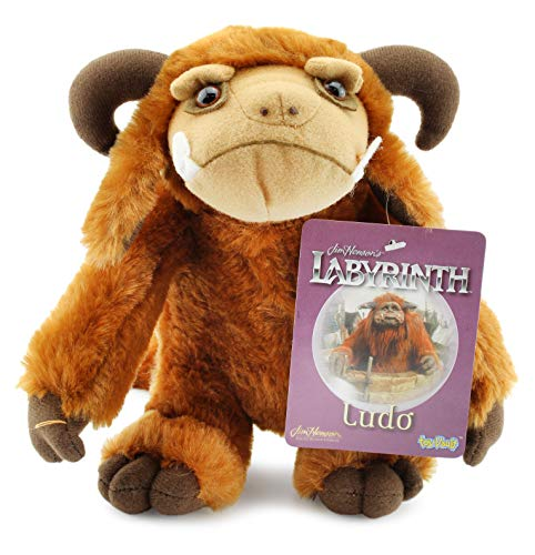 Toby Labyrinth Costumes - Toy Vault Ludo Plush Figure from