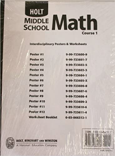 Holt Middle School Math Interdisciplinary