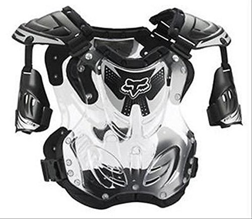 Fox Chest Protector - 2015 FOX RACING R3 ADULT LARGE CHEST PROTECTOR (BLACK) #06091-001-L