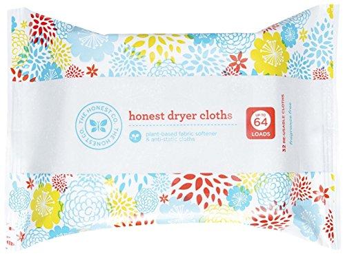 Honest Dryer Cloths, 32 Count