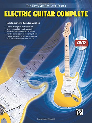 Ultimate Beginner Electric Guitar (Ultimate Beginner Electric Guitar Complete: Steps One & Two (Book & DVD (Sleeve)) (The Ultimate Beginner))