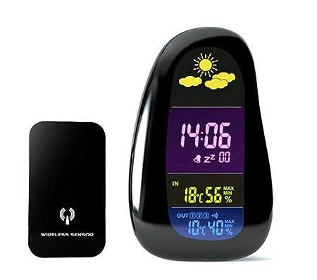 Reloj despertador con forma de adoquín La estación meteorológica ...