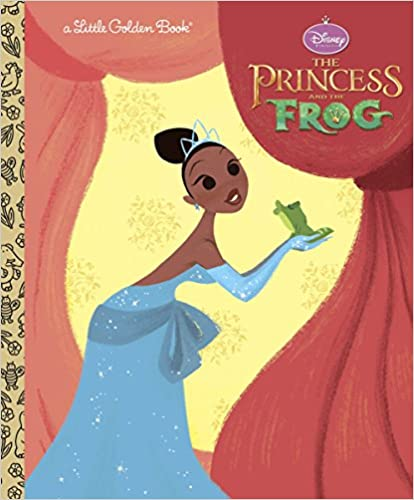 The Princess and the Frog Little Golden Book Disney Princess and the Frog