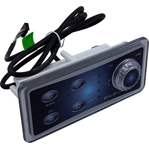 (Balboa 30-175-0796 Topside Panel, Analog/Ribbon Cable, 4-BTN, 50796)