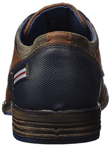 Scarpe Supremo Stringate 4811701 Oxford Uomo Cognac Marrone 4ww56qr