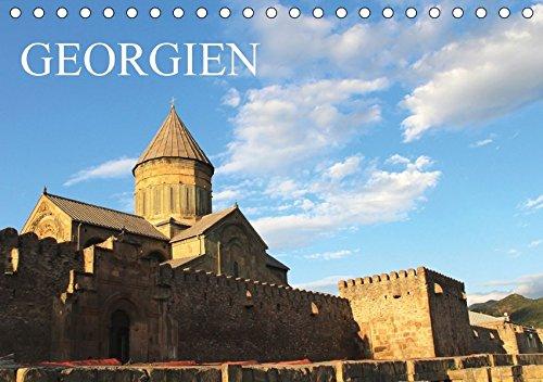 georgien-tischkalender-2018-din-a5-quer-ein-monatskalender-mit-farbenprchtigen-fotos-aus-georgien-querformat-14-seiten-monatskalender-14-orte-kalender-apr-08-2017-baur-cline