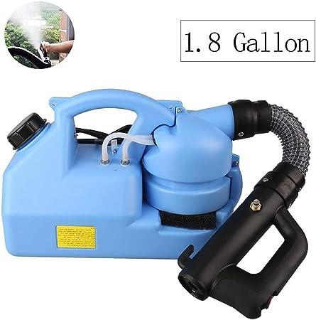 1.8 Galones Eléctrica Pulverizador ULV Nebulizador Mochila Nebulizador Rociador Jardín Fría Nebulización Máquina for Patio Jardín Césped (Size : 110V): Amazon.es: Hogar