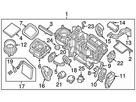 Amazon Com Nissan 27700 Zc00a Ac Evaporator Temperature Switch