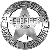 Denix Old West Era Tombstone Sheriff Replica Badge