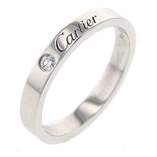 finest selection 1f812 8f237 Amazon   (カルティエ)CARTIER エングレーブド 1P リング・指輪 ...