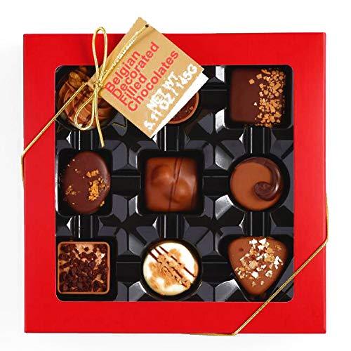 - ICKX Assorted Chocolate Pralines Box 5.11 oz each (1 Item Per Order, not per case)