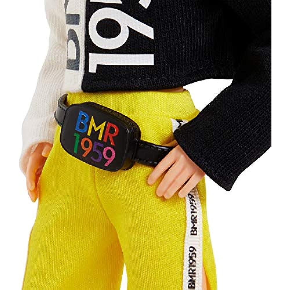 Split Red Hair, 12.5-inch Barbie BMR1959 Fully Poseable Ken Doll Freckles
