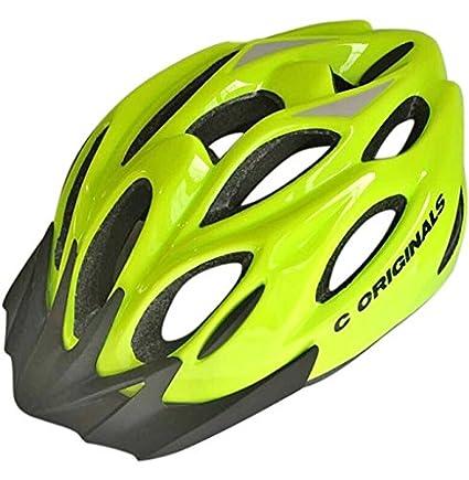 C ORIGINALS S380 Casco Bicicleta (S380 HI Vis Yellow): Amazon.es ...