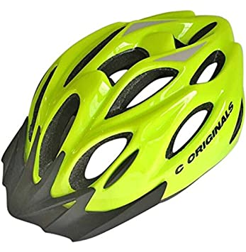 8X Colores - C ORIGINALS S380 Casco Bicicleta - Amarillo de Alta