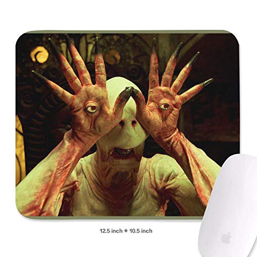Gaming Mouse Pad Custom Pan's-Labyrinth-(6)- Art Anti Slip Rectangle Design Non-Slip Rubber Mouse Pad 10.5x12.5 Inch